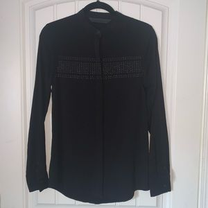 Harley-Davidson Women's Blouse With Studded Stripe